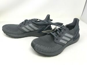 Mens Adidas (EG0701) ULTRABOOST 20 Gray Shoes (406J)