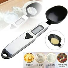 Portable Mini Digital Spoon Weighing Scale Kitchen Measuring Gram Weight