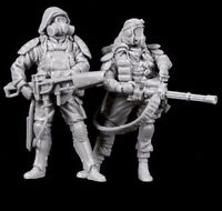 █ 1/35 Resin Zombie Killer 2 Warriors unpainted unassembled BL266
