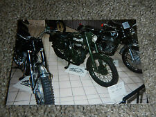 OLD VINTAGE MOTORCYCLE PICTURE PHOTOGRAPH ROYAL ENFIELD BIKE A1712460
