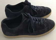 TSUBO Aeson Navy Blue Suede Wingtip Sneakers Oxfords Shoes Mens US 9 UK 8 EU 42