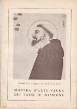ARTE COMITATO CENTRALE ANNO SANTO MOSTRA D'ARTE SACRA DEI PAESI DI MISSIONE