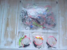 Sea fishing Rigs x 30 with plastic case: Uptide Rigs: Strong Boat Rigs, Quality