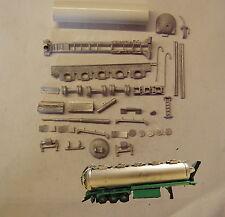 P&D Marsh N Gauge N Scale MV320 Bulk tanker tipping trailer kit require painting