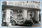 "1928 1929 Model A Rio Grand Gas Station With 1928 12 X 18"" Black & White Picture"