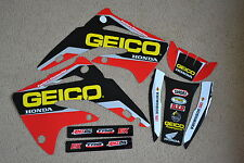 TEAM HONDA GEICO GRAPHICS  HONDA CR85R   CR85