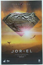 Hot Toys MMS-201 1/6 Man of Steel Jor El Russell Crowe Collectible Figure