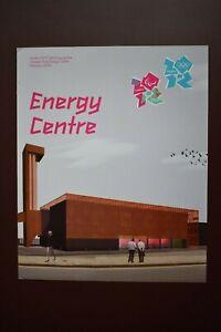 London 2012 Olympic Paralympic Games Energy Centre 2008 update Sport Memorabilia