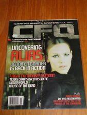 CFQ CINEFANTASTIQUE OCTOBER NOVEMBER 2003 KILL BILL ALIAS US MAGAZINE (B) =