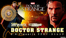 MARVEL Doctor Strange & Burning Flame Set Bandai Tamashii S.H Figuarts Figure