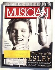 Vintage October 1992 MUSICIAN MAGAZINE Music NEWS Rare Elvis Presley Photos