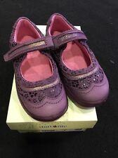 Startrite Purple Shoes Size 7.5g Eur 25