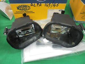 Alfa Romeo Alfa 145 146 Set Fog Lamp Spotlights Spare New Original