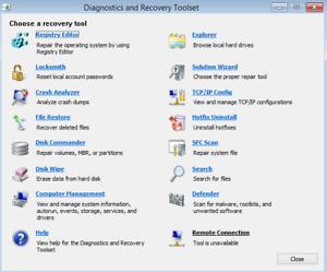 Microsoft DaRT Windows Recovery CD. Reset Windows/Server Password and More!