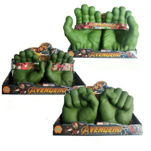 Hulk Gloves Hands Smash Toys Avengers Fists Glove Cosplay Props Kids Adults Gift