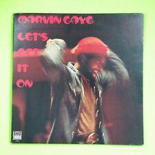 MARVIN GAYE Let's Get It On T329V1 LP Vinyl VG+ Cover VG+ GF