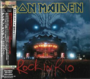 IRON MAIDEN ROCK IN RIO 2020 JAPAN REMASTERED 2CD SET - GIFT QUALITY PRODUCT!