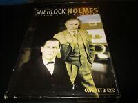 """COFFRET 3 DVD """"SHERLOCK HOLMES - SAISON 3"""""""