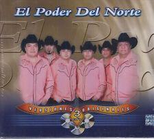 CD - El Poder Del Norte NEW Versiones Originales 3 CD - FAST SHIPPING !