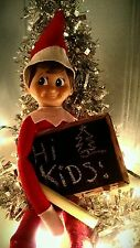 Santa Elf on The Shelf Christmas Chalk Board and Messages Santa Notes Accessory