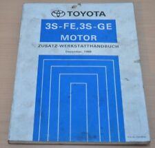 Toyota MR2 Motor 3S-FE 3S-GE SW20 1989 Werkstatthandbuch Reparaturanleitung