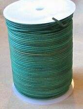Top Quality 2mm Supple Antique  Goat Leather Cord ( GREEN )