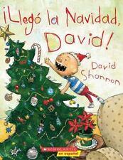 Llego la Navidad, David! by David Shannon (2010, Paperback)