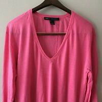 Marc Jacobs Lightweight Fuchsia Sweater Size L