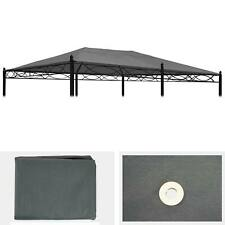 Ersatzbezug für Dach Pergola Pavillon Calpe 5x3m, grau