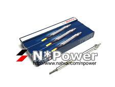 BOSCH GLOW PLUG X4 FOR NISSAN Navara D40 D22 YD25DDTI PATHFINDER R51