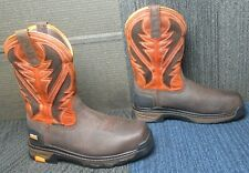 Mens ARIAT Intrepid Venttek Composite Toe Leather Work Boots 10 EE ~ Excellent