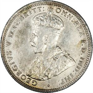 British West Africa 1914 Shilling VF+