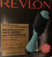 Teal Revlon RVDR5222MNT 1100W Hair Dryer and Volumizer Hot Air Brush
