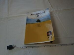 Abundant Life Bible NT NLT New Testament Living translation book Presence of God