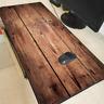 XXL Gaming Mauspads Groß Holz Tisch Baum Mausunterlage Computer PC Mousepad x
