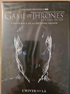 Coffret DVD : Game of thrones - Intégrale saison 7 - NEUF