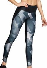 Under Armour Fly Fast Printed Womens Long Running Tights - Black