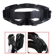 Adult Dirt Bike Mx Atv Mtb Bmx Clear Lens Kart Eyewear Anti Wind Scratch Glasses