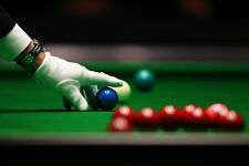 Stampa incorniciata-Tavola Snooker (PICTURE POSTER ART Biliardo Pool Ball Games)