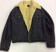 Vintage Genuine Roebucks Western Denim Jean Jacket Size 42-R