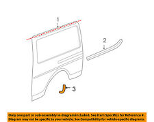 GM OEM Side Panel-Wheel Well Fender Flare Molding Right 25728402
