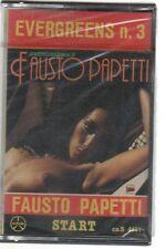 FAUSTO PAPETTI EVERGREENS N. 3 MC K7 MUSICASSETTA NUOVA!!!