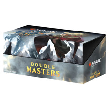 Magic the Gathering MTG Double Masters Booster Box W/ 24 Packs