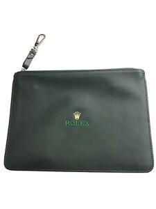 Authentic Rolex Green Multi Purpose Bag (handbag)26x18 cm