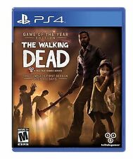 The Walking Dead: The Complete First Season Plus 400 Days   PS4 shrink ripped