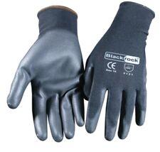 5xPair Of Blackrock Lightweight Grip Black Nylon PU Safety Work Gloves (84301)LR