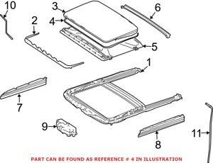 Genuine OEM Sunroof Seal for Mercedes 1647800398