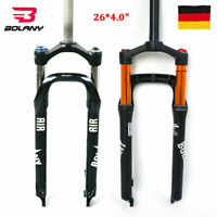 "26*4.0"" MTB Beach Fahrrad Federgabel 100/120mm Reisefett Bike Luftgabel 28.6mm"