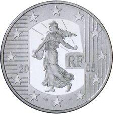 FRANCIA 1 1/2 1,5 EURO 2005 FRANCIA SEMEUSE PLATA