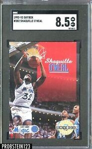 1992-93 SkyBox #382 Shaquille O'Neal RC Rookie HOF MAGIC SGC 8.5 NM-MT+